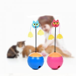 Rubber Dog Toy Squeakers Pet Sound Ringing Barbell Pet Dog Toys